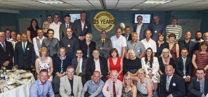 Newbury franchise celebrates 25 years in business